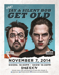 Jay & Silent Bob with Jason Mewes & Kevin Smith